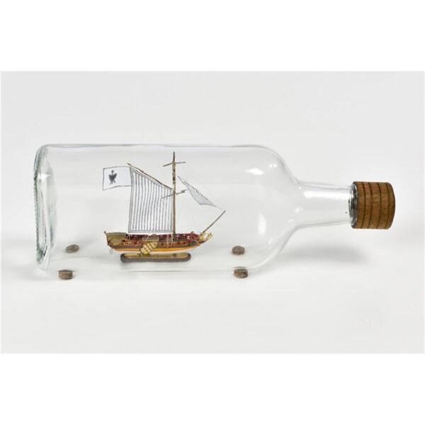 Yacht Olandese Hajó a palackban építőkészlet Amati