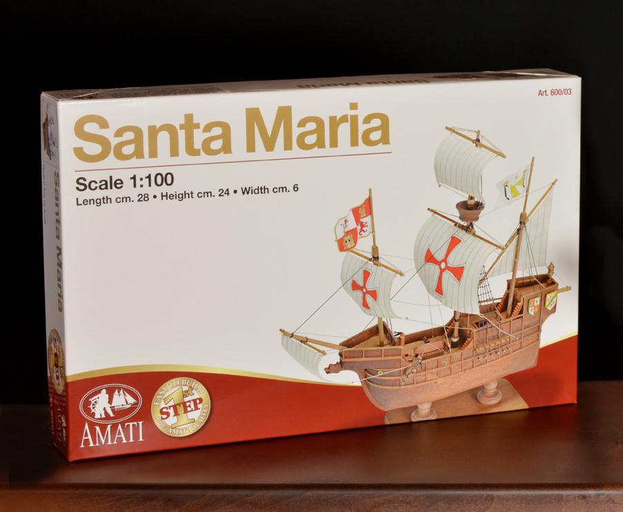 1. lépés Santa Maria hajómakett építőkészlet Gyerek kitt