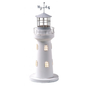 Világítótorony világítással 40 cm Lámpa
