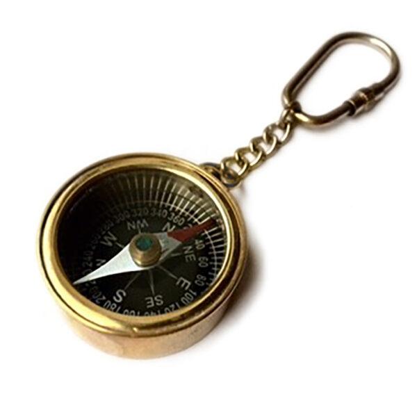 Kulcstartó iránytű 3,5 cm Iránytű, Napóra