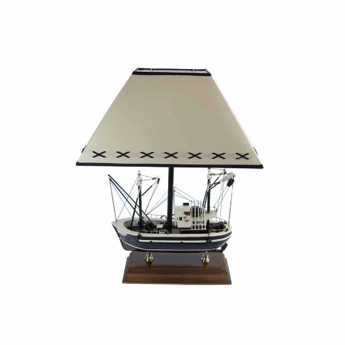 Halászhajó éjjeli lámpa 54 cm Lámpa