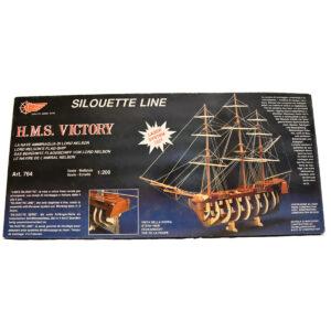 HMS Victory Sziluett makett Gyerek kitt