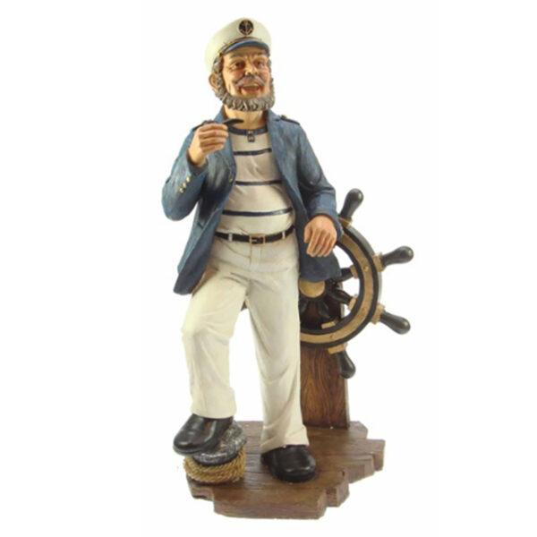 Kapitány kormánnyal 50 cm Mókás figurák, szobrok