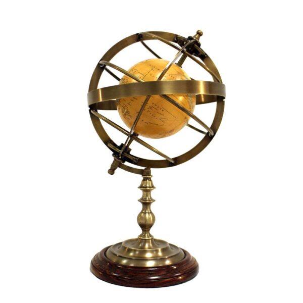Armilláris földgömbbel 40 cm Armilláris gömb