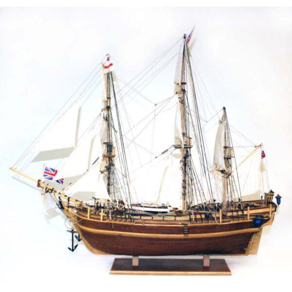 HMS Agamemnon makett L80 Történelmi makett