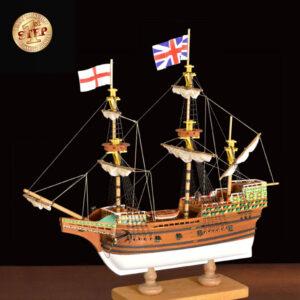 1. lépés Mayflower hajómakett építőkészlet Amati