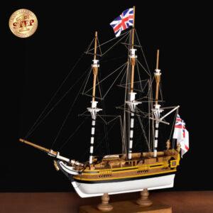 Trawler halászhajó építőkészlet Gyerek kitt