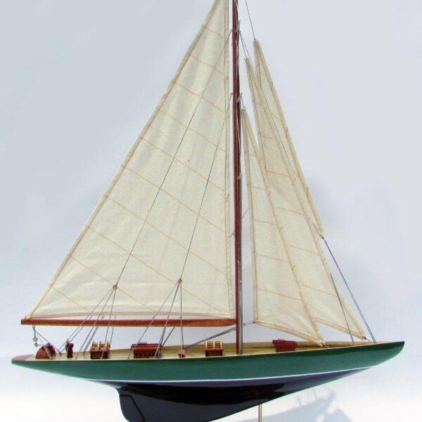 Shamrock festett makett L60 Vitorlás hajómakett