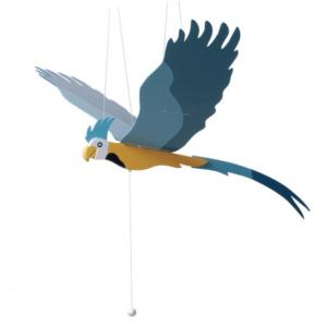 Papagály függő reptethető 56 cm Vicces ajándék