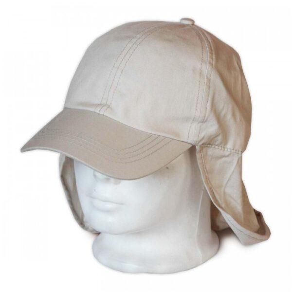 Tarkóvédő bézs basketball sapka Sapka, kalap