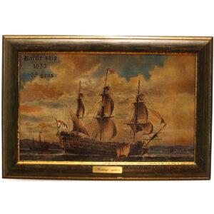 Festmény HMS Victory Festmények, képek [tag]