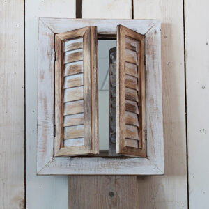 Tükör ablakkeretben (spalettás)