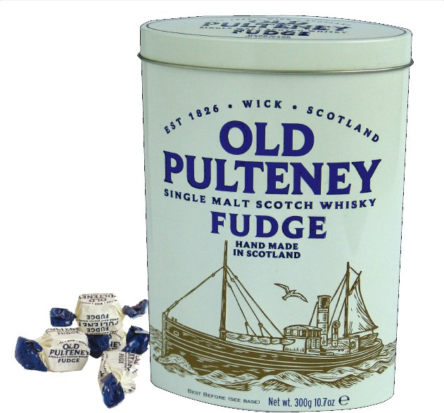 Old Pultney Whisky Fudge 300g Édesség