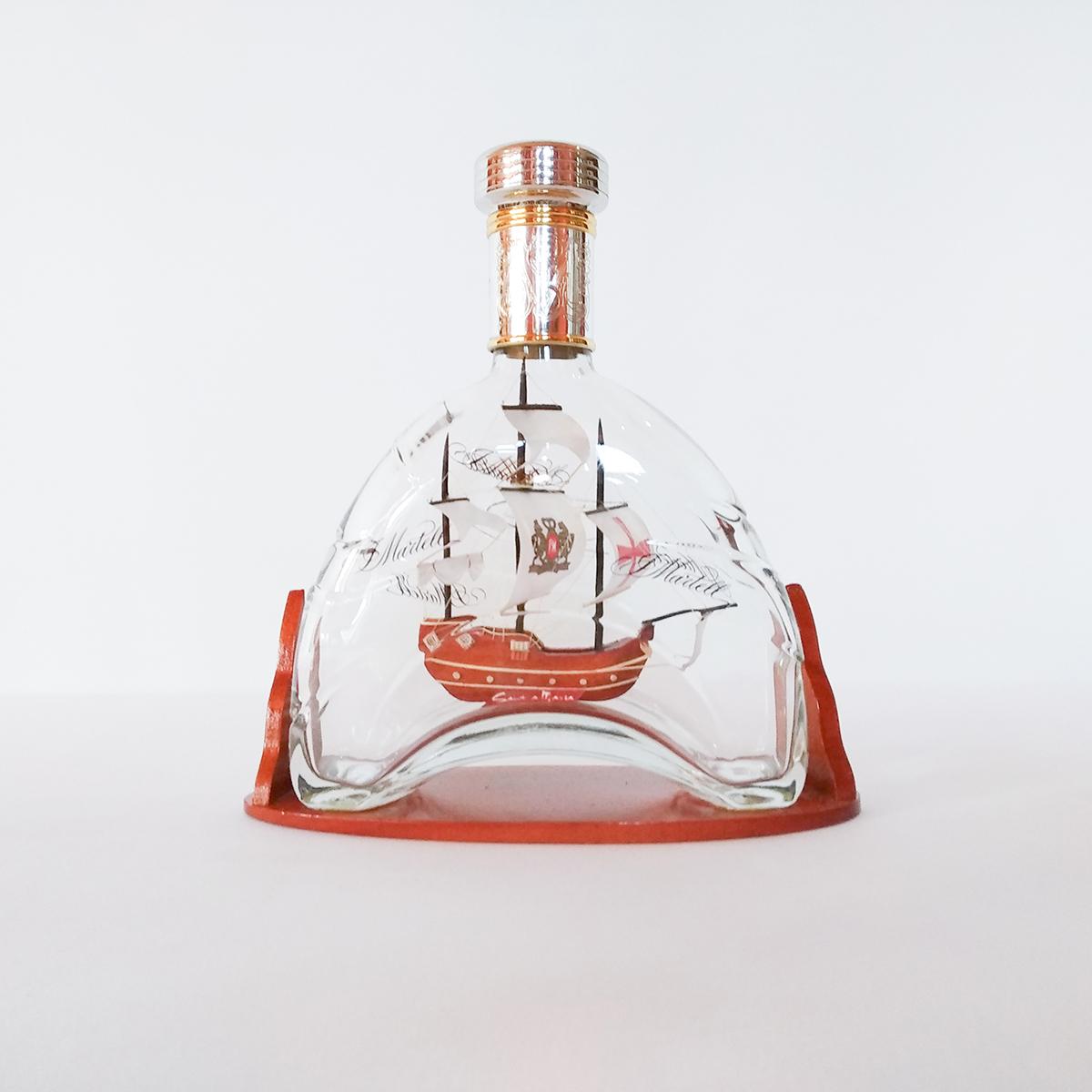 Santa Maria Martelles üvegben Hajómakett üvegben