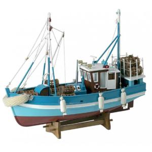 Halászbárka makett Kishajó, Csónak