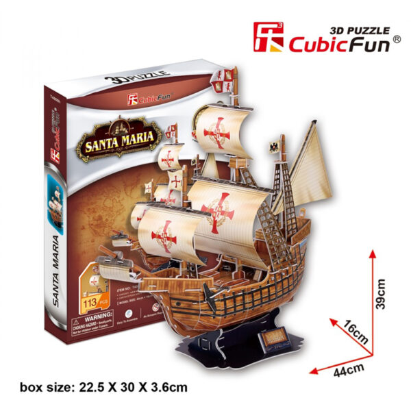 Római hadihajó 3D puzzle 3D puzzle Cubicfun