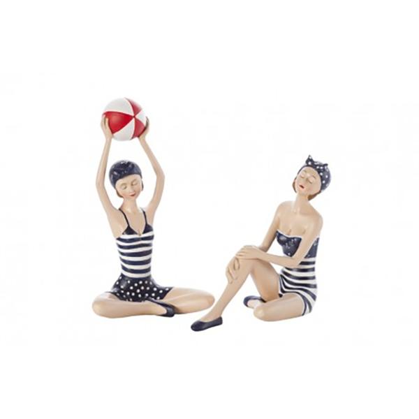Strandoló lány úszógumival Vicces ajándék