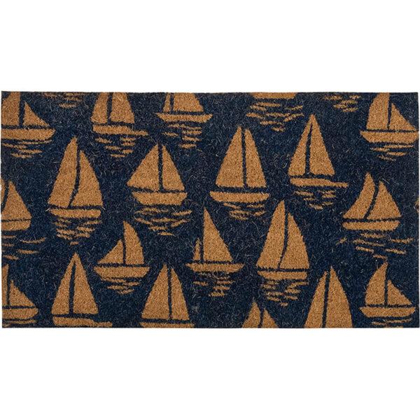 Lábtörlő horgonyos 70 cm kék Lábtörlő, szőnyeg